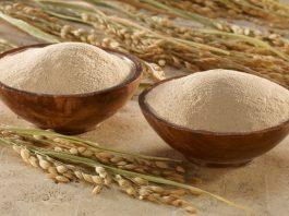 cám gạo giúp trắng da